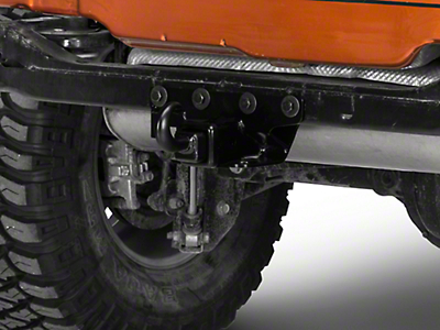 Rugged Ridge 2 in. Receiver Hitch Kit w/ Recovery Hook (07-18 Jeep Wrangler JK)
