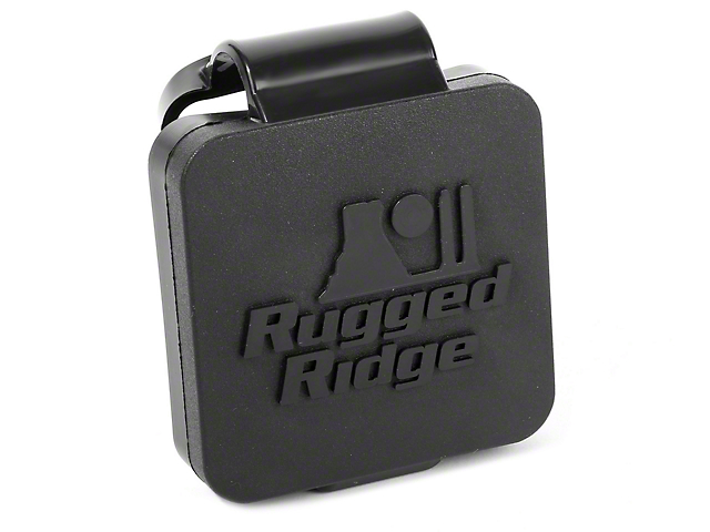 Rugged Ridge Logo 2 in. Hitch Plug