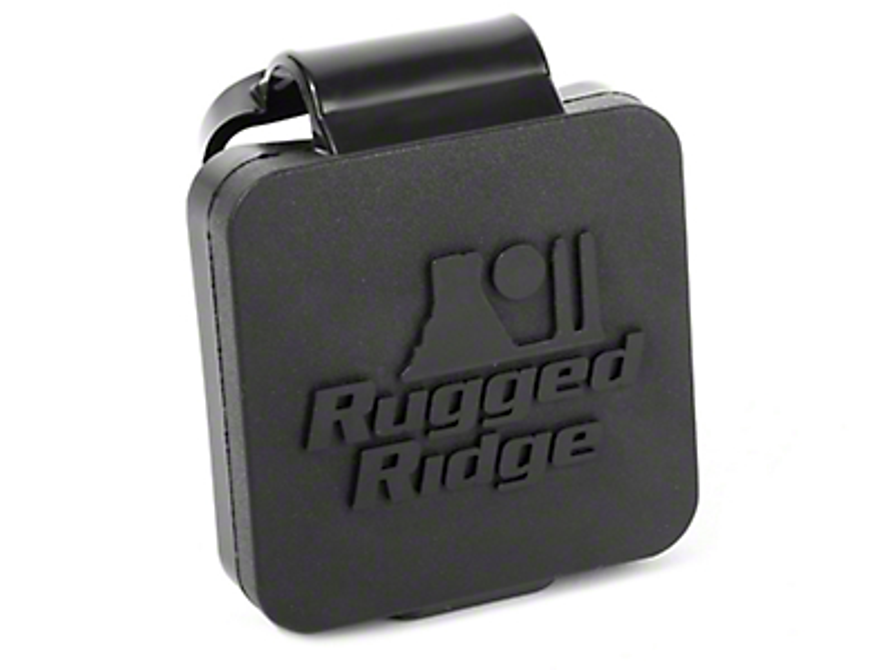 Rugged Ridge Logo 2 in. Hitch Plug (87-18 Jeep Wrangler YJ, TJ, JK & JL)