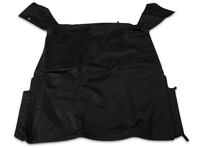 Complete Soft Top w/ Frame & Hardware; Black Diamond (88-95 Jeep Wrangler YJ)