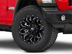 Fuel Wheels Assault Black Machined Wheel - 18x9 (18-19 Jeep Wrangler JL)