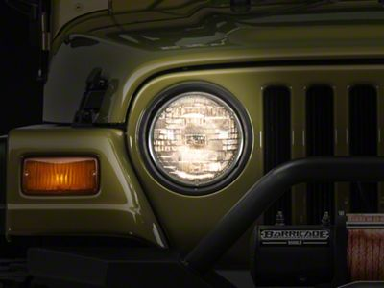 Axial Jeep Wrangler Headlight Led Conversion Bulb Kit J103153 97 06 Jeep Wrangler Tj