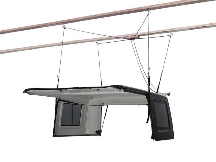 How to Install a Harken Hoister Garage Storage 4-Point Lift System