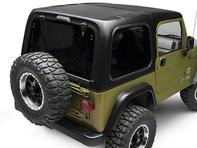 DV8 Off-Road Hard Top (97-06 Jeep Wrangler TJ, Excluding Unlimited)