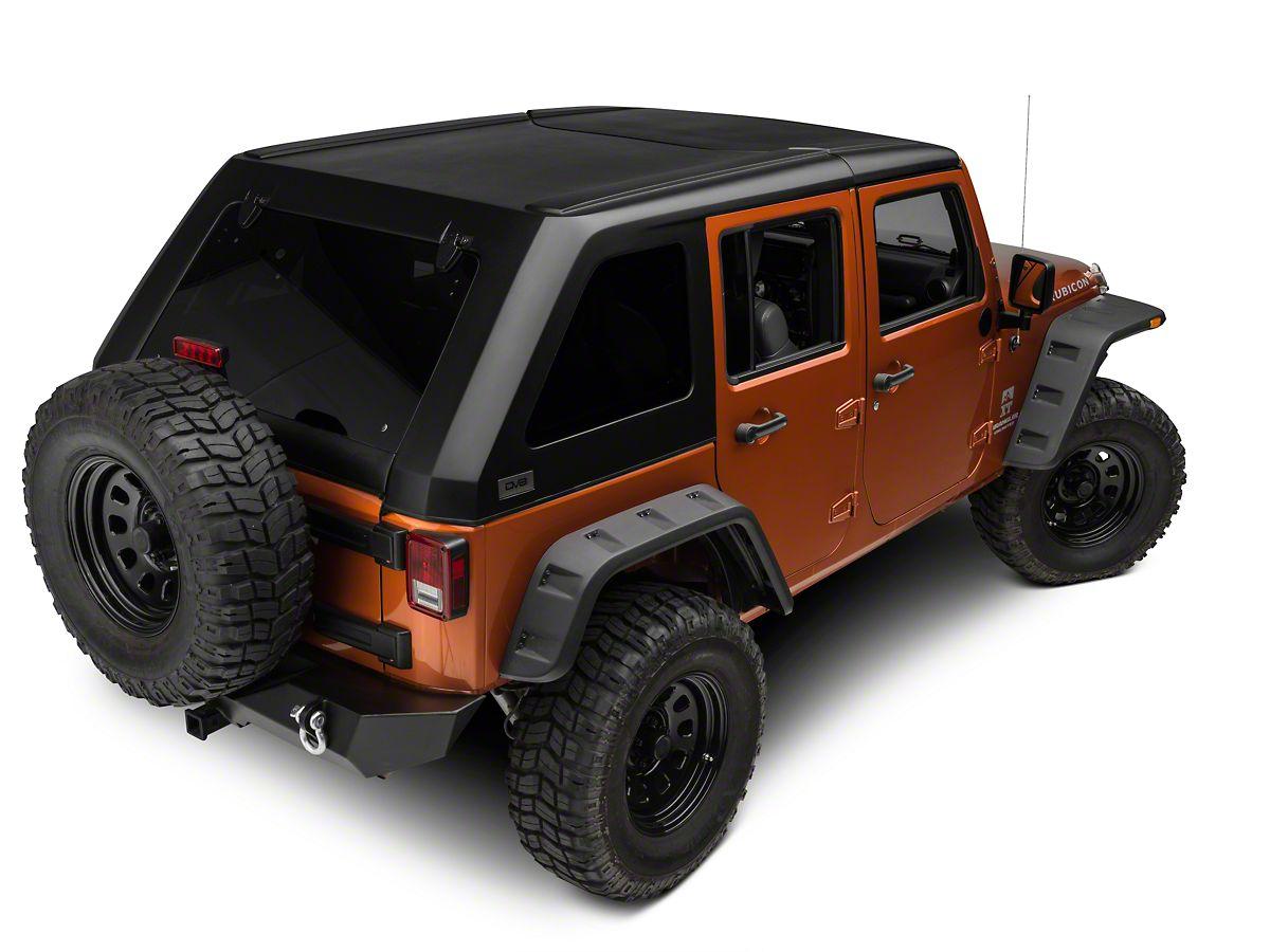 DV8 Off-Road 2-Piece Ranger Fastback Hard Top (07-18 Jeep Wrangler on