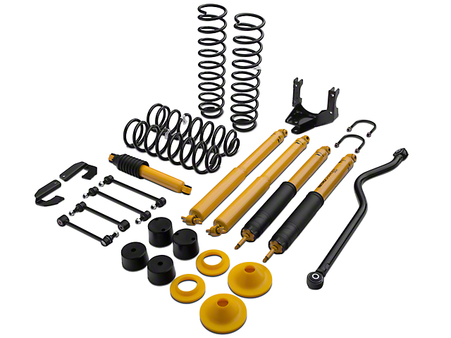 Old Man Emu 4 in. Suspension Lift Kit w/ Shocks (07-18 Jeep Wrangler JK)