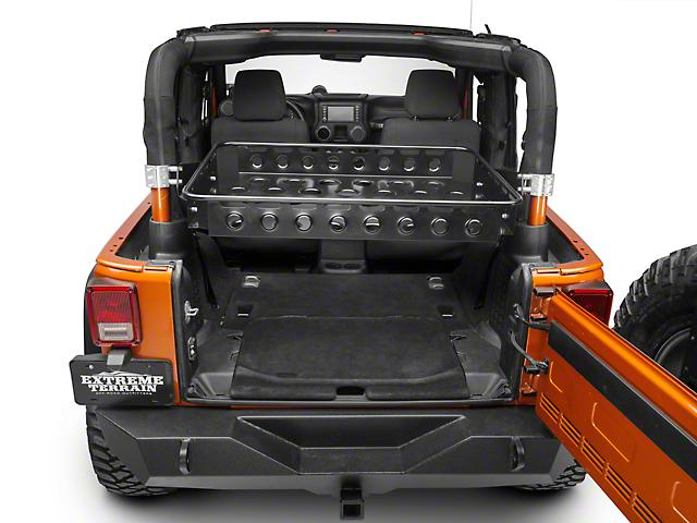 Synergy Wrangler Baja Basket 5611 Bk 07 18 Jeep Wrangler