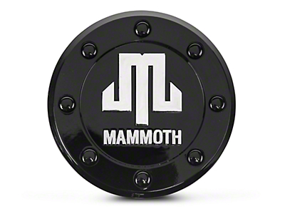 Mammoth 8 Center Cap (07-18 Wrangler JK; 2018 Wrangler JL)