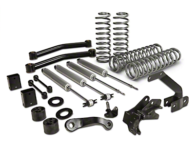 Rough Country 3.5 in. Series II Lift Kit w/ Shocks (07-18 Wrangler JK 2 Door)