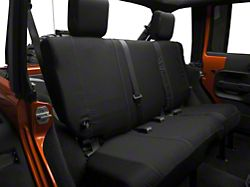 Barricade Custom Seat Cover - Rear 40/60, Black (13-18 Jeep Wrangler JK)