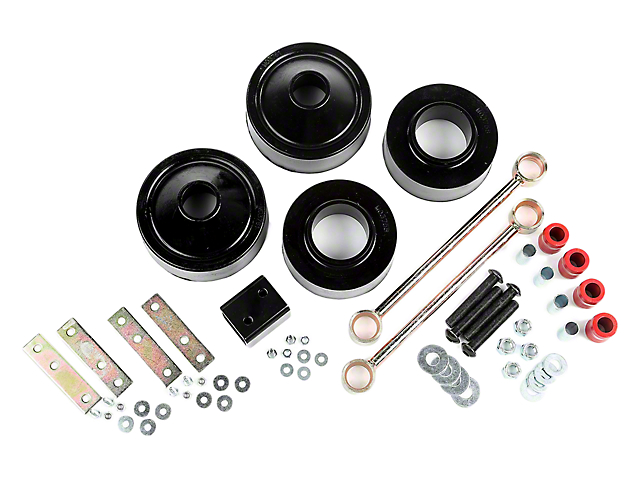 Rugged Ridge 1.75-Inch Spacer Lift Kit (07-18 Jeep Wrangler JK)
