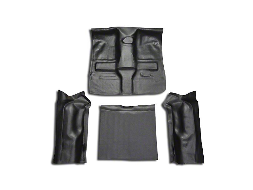 OPR Complete Vinyl Flooring w/o Rocker Panels - Black (97-06 Jeep Wrangler TJ)