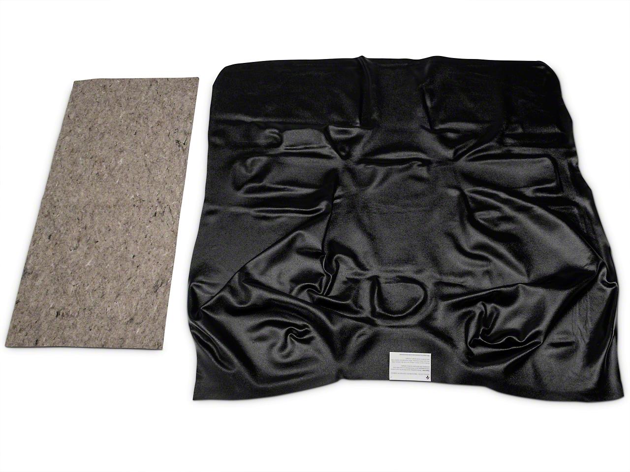 OPR Vinyl Flooring Passenger Area - Black (04-06 Jeep Wrangler TJ Unlimited)