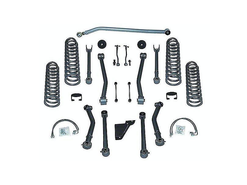 Rubicon Express 3.5 in. Super-Flex Lift Kit w/o Shocks (07-18 Jeep Wrangler JK 2 Door)