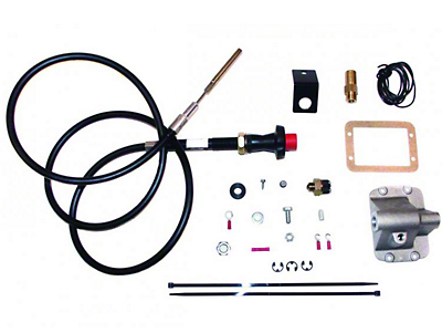 JKS Posi Lock Cable Axle Disconnect for 0-3 in. Lift (87-95 Wrangler YJ)