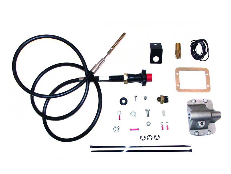 JKS Posi Lock Cable Axle Disconnect for 3+ in. Lift (87-95 Jeep Wrangler YJ)