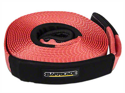 Barricade 2.5 in. x 30 ft. Recovery Strap - 17,500 lbs.