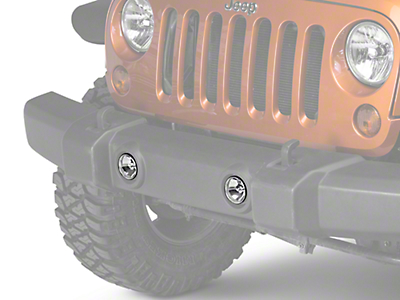 PIAA LP530 Series LED Fog Light Kit (10-18 Wrangler JK)