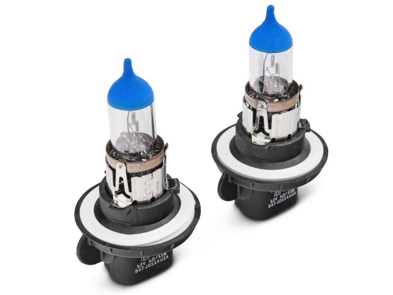 PIAA Xtreme White Headlight Bulbs - H13 (07-18 Jeep Wrangler JK)