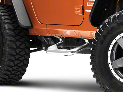 Carr Super Hoop Steps - Polished (07-18 Jeep Wrangler JK)