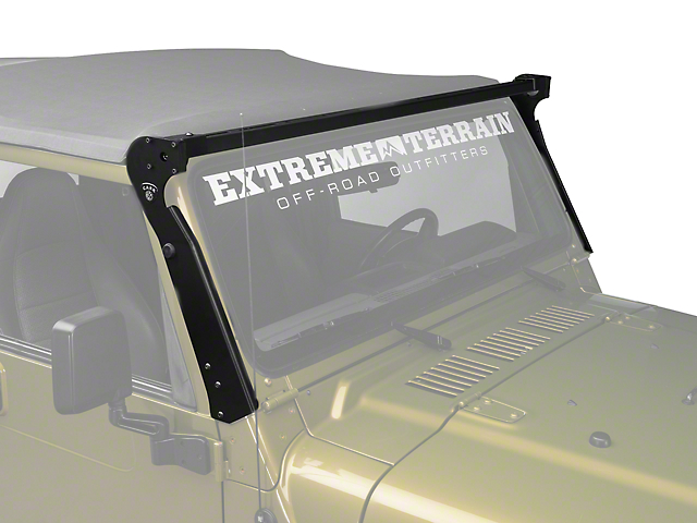 Carr XRS Rota Light Bar - Black (97-06 Jeep Wrangler TJ)
