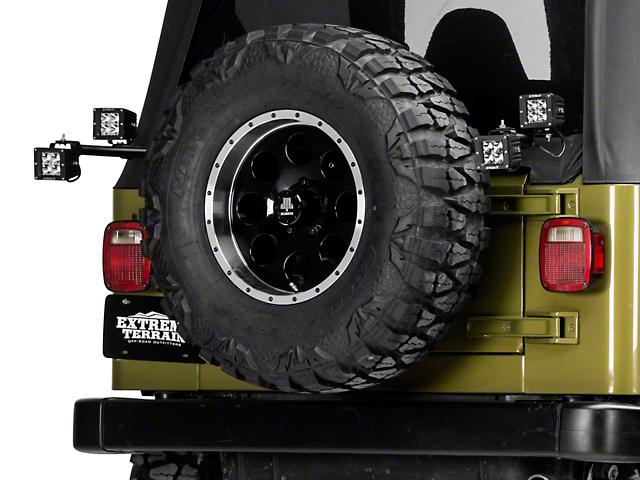 Olympic 4x4 Rear Light Bar (97-06 Jeep Wrangler TJ)