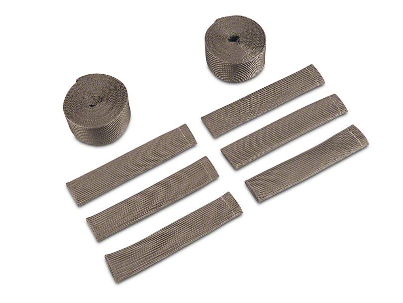 DEI Exhaust Wrap Header Kit - Titanium (07-11 Wrangler JK)
