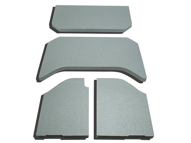 Boom Mat Sound Deadening Headliner - Gray (07-10 Wrangler JK 4 Door)