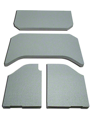 Boom Mat Sound Deadening Headliner - Gray (11-18 Wrangler JK 4 Door)