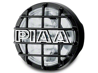 PIAA 540 Series 5 in. Round Xtreme White Halogen Lights - Driving Beam - Pair (87-17 Wrangler YJ, TJ & JK)