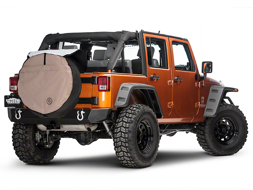 Boomerang Joey Tire Cover - 33 in. (87-18 Jeep Wrangler YJ, TJ, JK & JL)