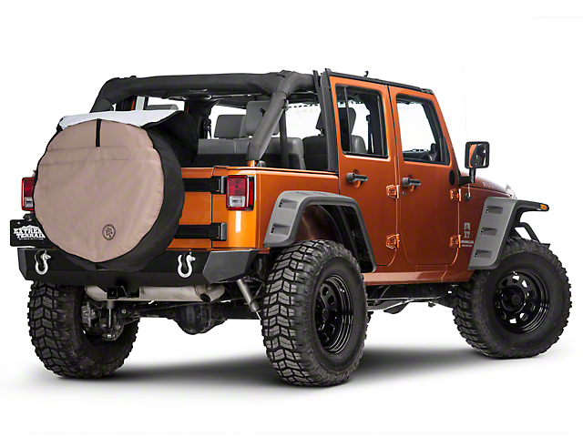 boomerang wrangler joey tire cover 35 in jtc 35 tan 15. Black Bedroom Furniture Sets. Home Design Ideas