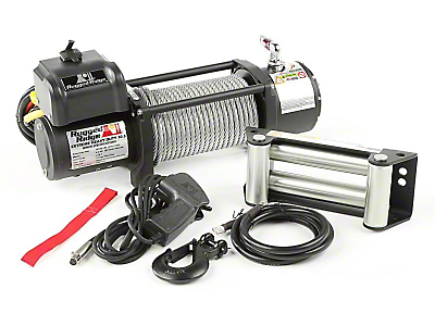 Rugged Ridge Spartacus Heavy Duty 10,500 lb. Winch w/ Steel Cable