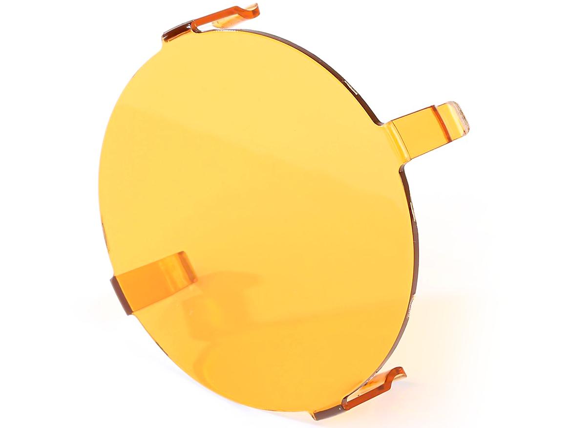 Rugged Ridge 3.5 in. LED Light Cover - Amber
