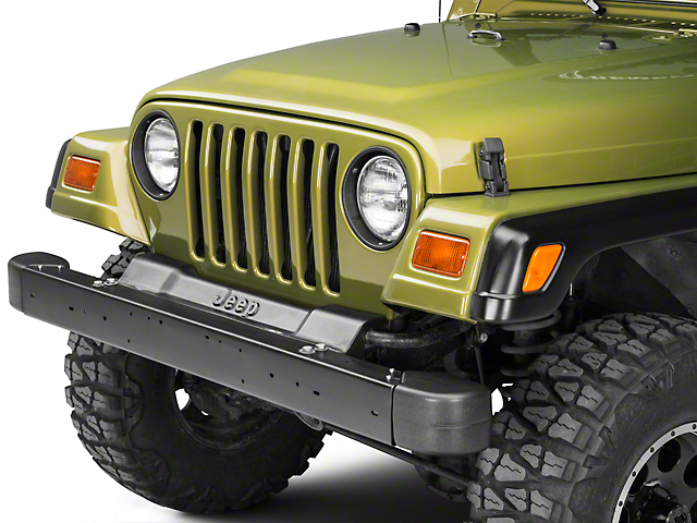 Omix-ADA Front Bumper Kit - OE Replacement (97-06 Jeep Wrangler TJ)