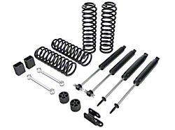Zone Offroad 3-Inch Lift Kit with Nitro Shocks (07-18 Jeep Wrangler JK 4-Door)