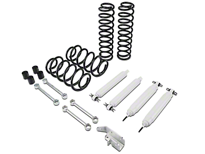 Zone Offroad 3 in. Lift Kit w/ Hydro Shocks (97-02 Wrangler TJ)
