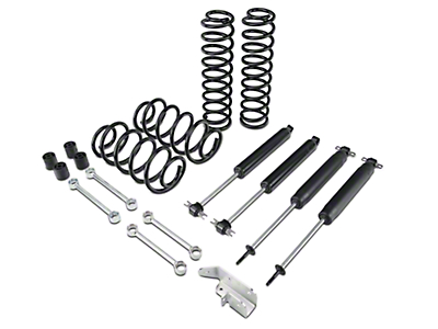 Zone Offroad 3 in. Lift Kit w/ Nitro Shocks (03-06 Jeep Wrangler TJ)