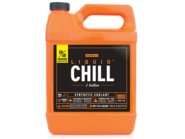 Mishimoto Liquid Chill Performance Coolant - 50/50 Pre-mix - One Gallon (87-19 Jeep Wrangler YJ, TJ, JK & JL)