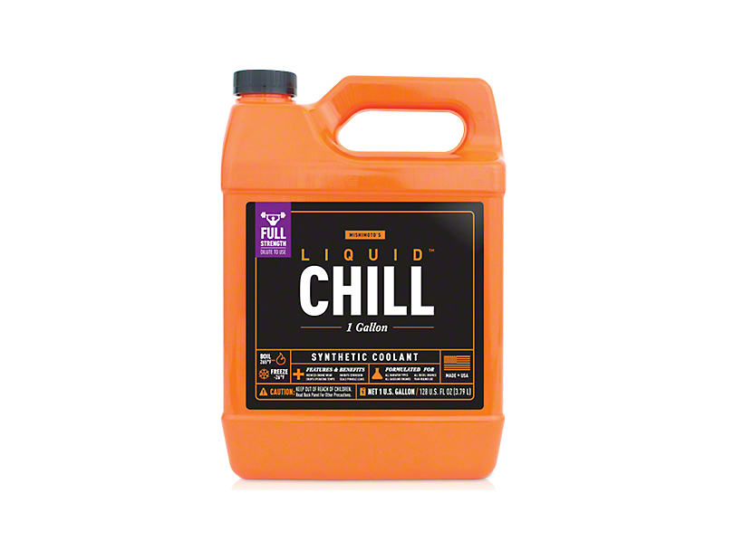 Mishimoto Liquid Chill Performance Coolant - Full-Strength - One Gallon (87-20 Jeep Wrangler YJ, TJ, JK & JL)