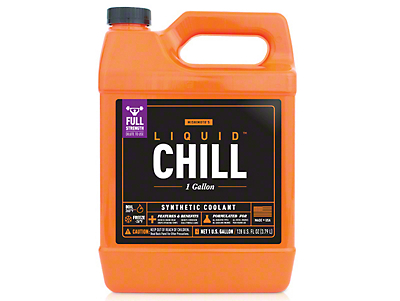 Mishimoto Liquid Chill Performance Coolant - Full-Strength - One Gallon (87-18 Wrangler YJ, TJ, JK & JL)