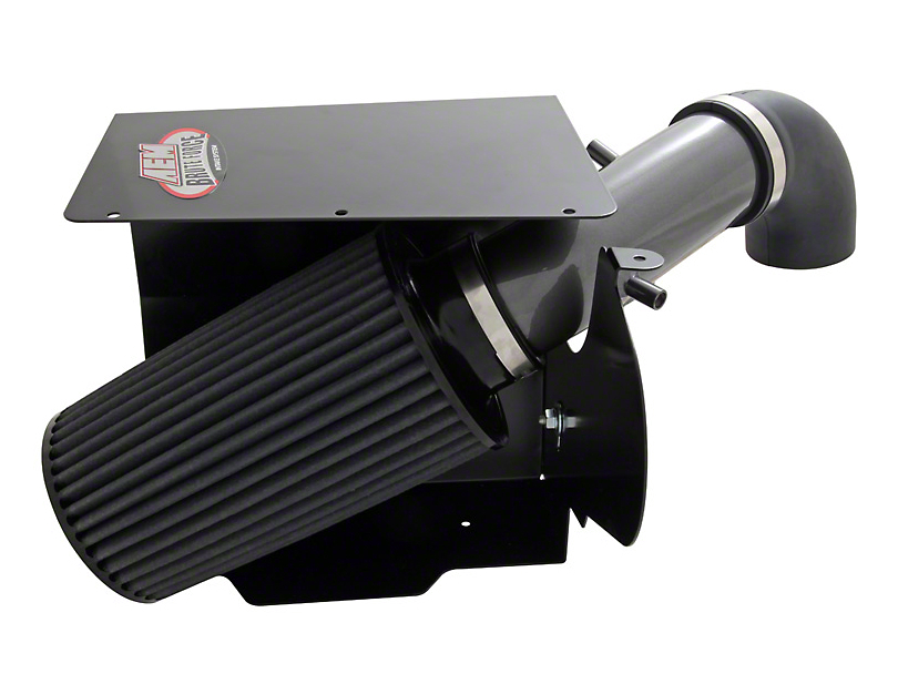 AEM Brute Force Cold Air Intake - Gunmetal Gray (91-95 4.0L Jeep Wrangler YJ)