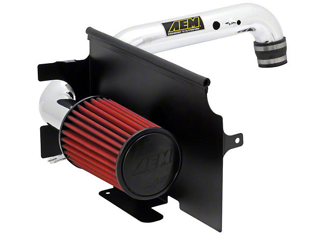 AEM Brute Force Cold Air Intake; Polished (97-06 4.0L Jeep Wrangler TJ)