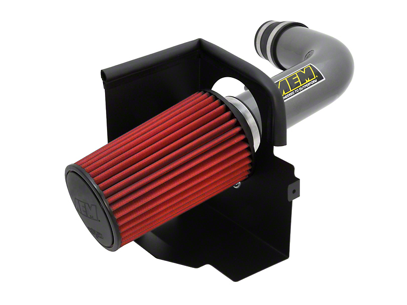 AEM Brute Force Cold Air Intake - Gunmetal Gray (07-11 3.8L Jeep Wrangler JK)