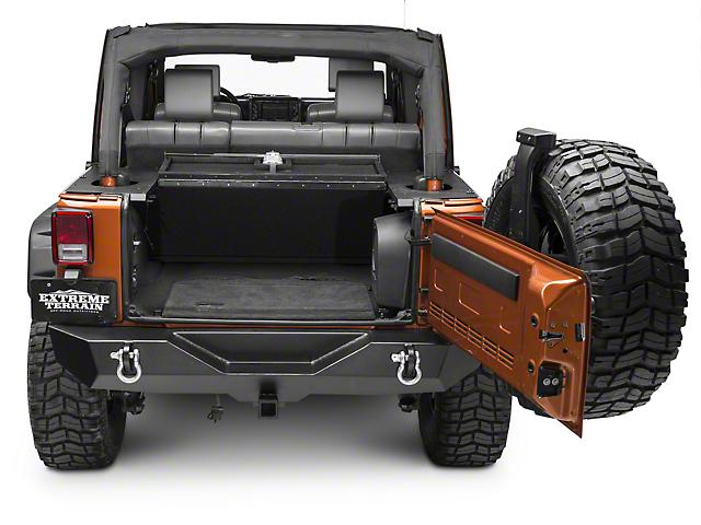Security Cargo Lid (07-10 Jeep Wrangler JK 4 Door)