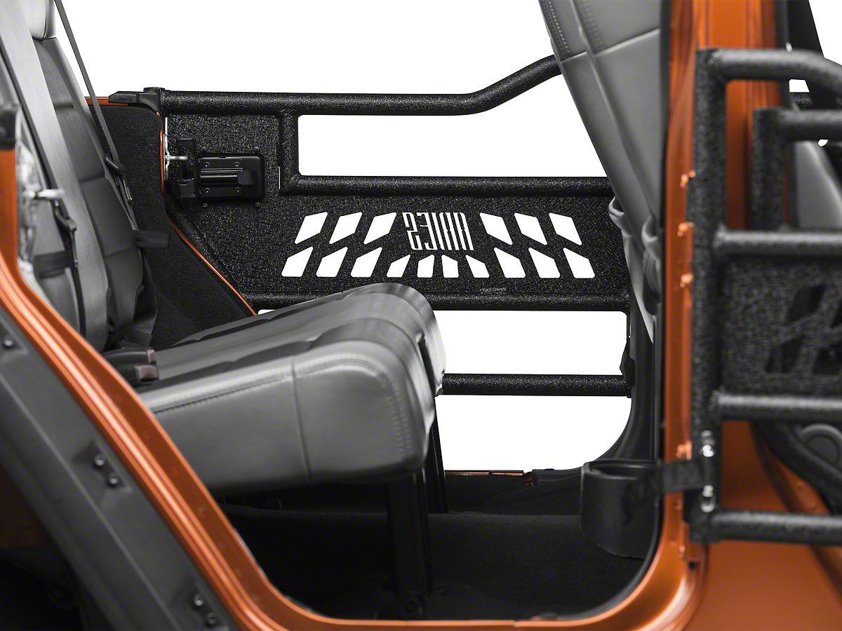 Stupendous Aries Automotive Tubular Rear Doors 07 18 Jeep Wrangler Jk 4 Door Spiritservingveterans Wood Chair Design Ideas Spiritservingveteransorg