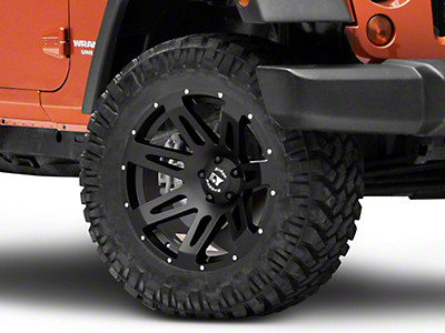 Rugged Ridge XHD Black Satin Wheel - 20x9 (07-18 Wrangler JK; 2018 Wrangler JL)