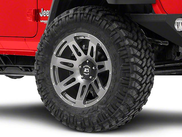 Rugged Ridge XHD Gun Metal Gray Wheel - 20x9 (18-19 Jeep Wrangler JL)