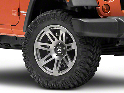 Rugged Ridge XHD Gun Metal Gray Wheel - 20x9 (07-18 Wrangler JK; 2018 Wrangler JL)