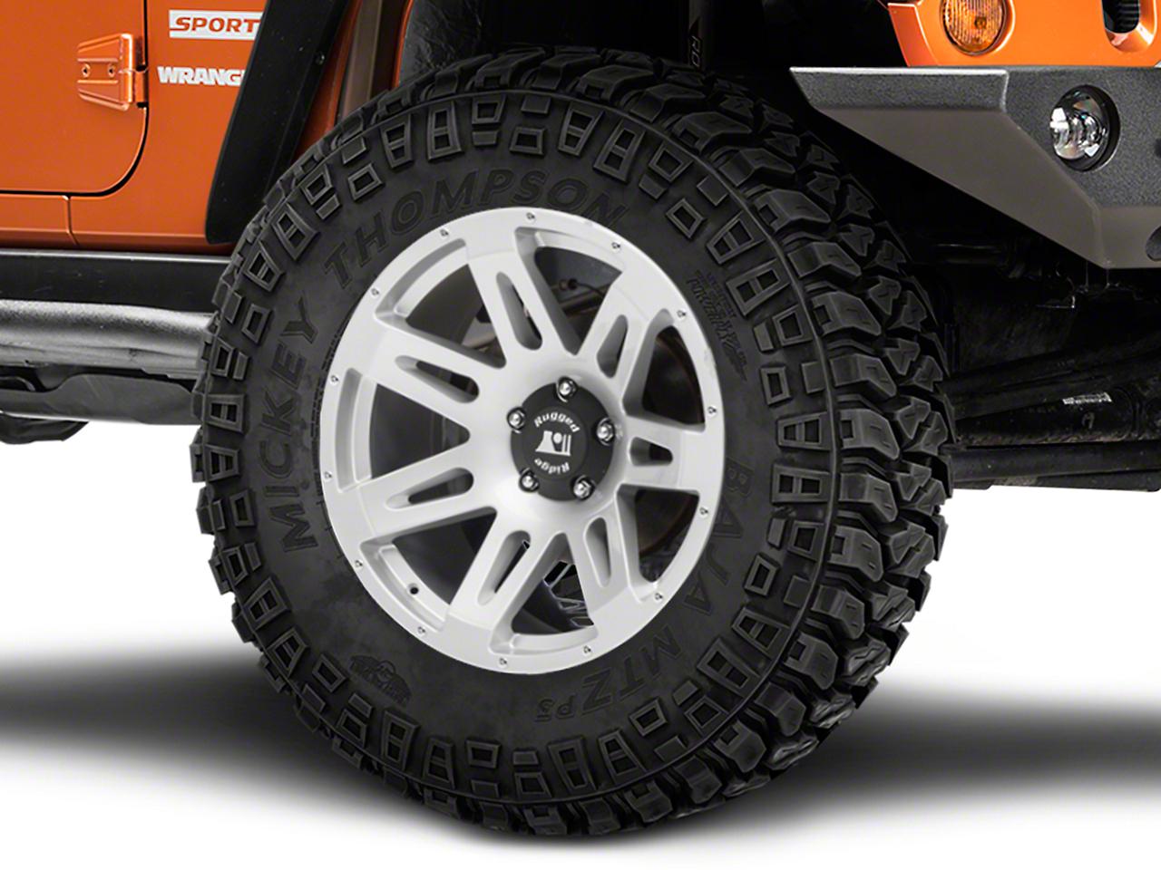 Rugged Ridge XHD Silver Wheel - 20x9 (07-18 Wrangler JK)